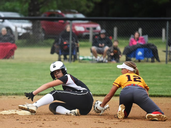 Junior shortstop Ally Ringsby was one of three Roland-Story softball players named all-state in Class 3A by the IGCA in 2021.