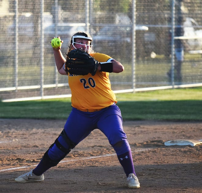 Nevada senior third baseman Addi Vorm was named second-team all-state in softball by the Iowa Girls Coaches Association in 2021. Vorm set a Nevada record by hitting .500 for the season.