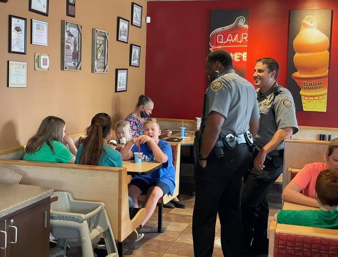 Cones with Cops
