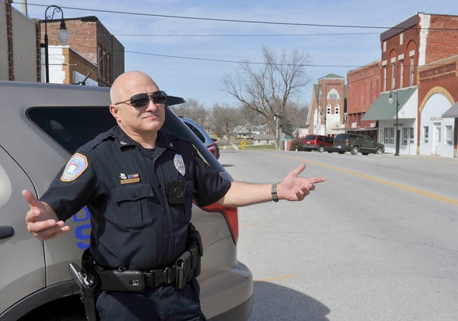 Former Sturgeon Police Chief Greg Halderman was awarded compensatory and punitive damages Friday.
