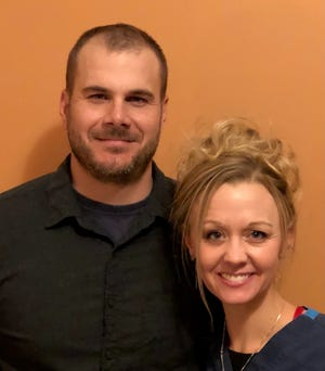 Drs. Josh and Marya Teders, owners of NorthArlington Animal Clinic in Upper Arlington