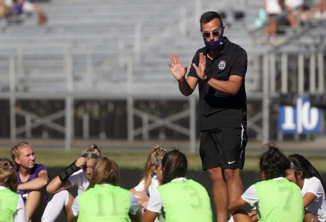 DeSales girls soccer coach Chris Froehlich and the Stallions open their season with a Friday Night Futbol contest Aug. 13 at home against Olentangy Berlin. The schools' boys squads also face off that night. Friday Night Futbol was moved up one week because of an earlier start to the football season.