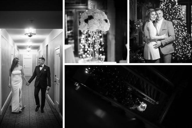 Natalie and Frank Monago married on Dec. 19, 2020 at Granville Inn.