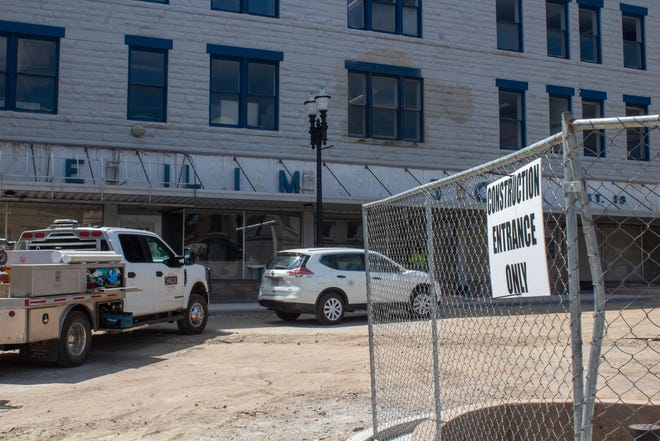 The Quinby Building that once housed the Newell Brand Rubbermaid store will now host E&H Ace Hardware.