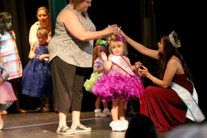 For the 4th annual Dodge City Dolls Little Miss Dodge City Pageant, in the tiny category ages 1-3, the overall winner was Victoria.