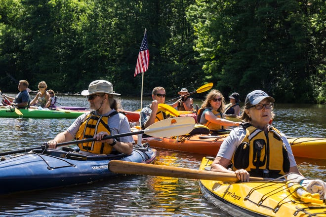 The Association of Rollinsford Culture and History will present a unique guided tour of the tidal portions of the Salmon Falls River by canoe or kayak on Saturday, August 7 from 10 a.m. to noon. Advance registration required.