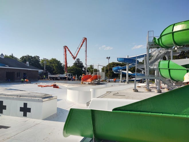 The new Newton Municipal Pool should open Aug. 14.