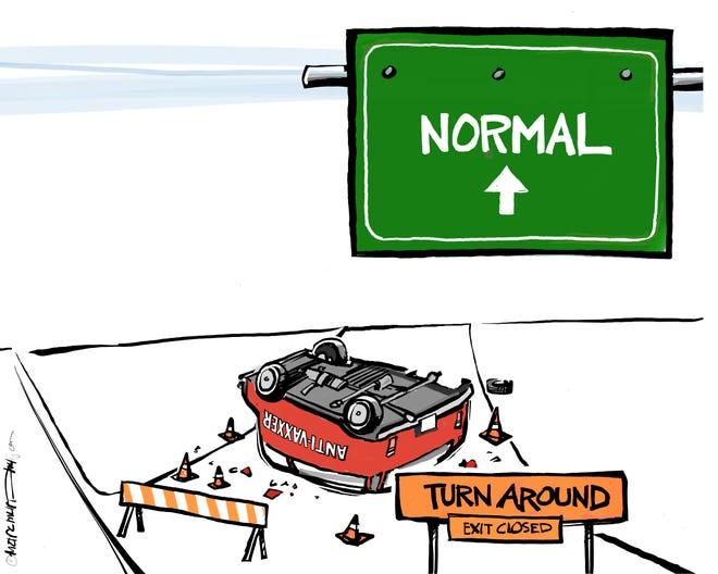 Today's editorial cartoon (Aug. 3, 2021)