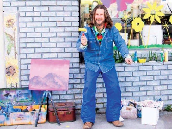 Joshua Jerue often painted outside Berryvale in Mount Shasta.