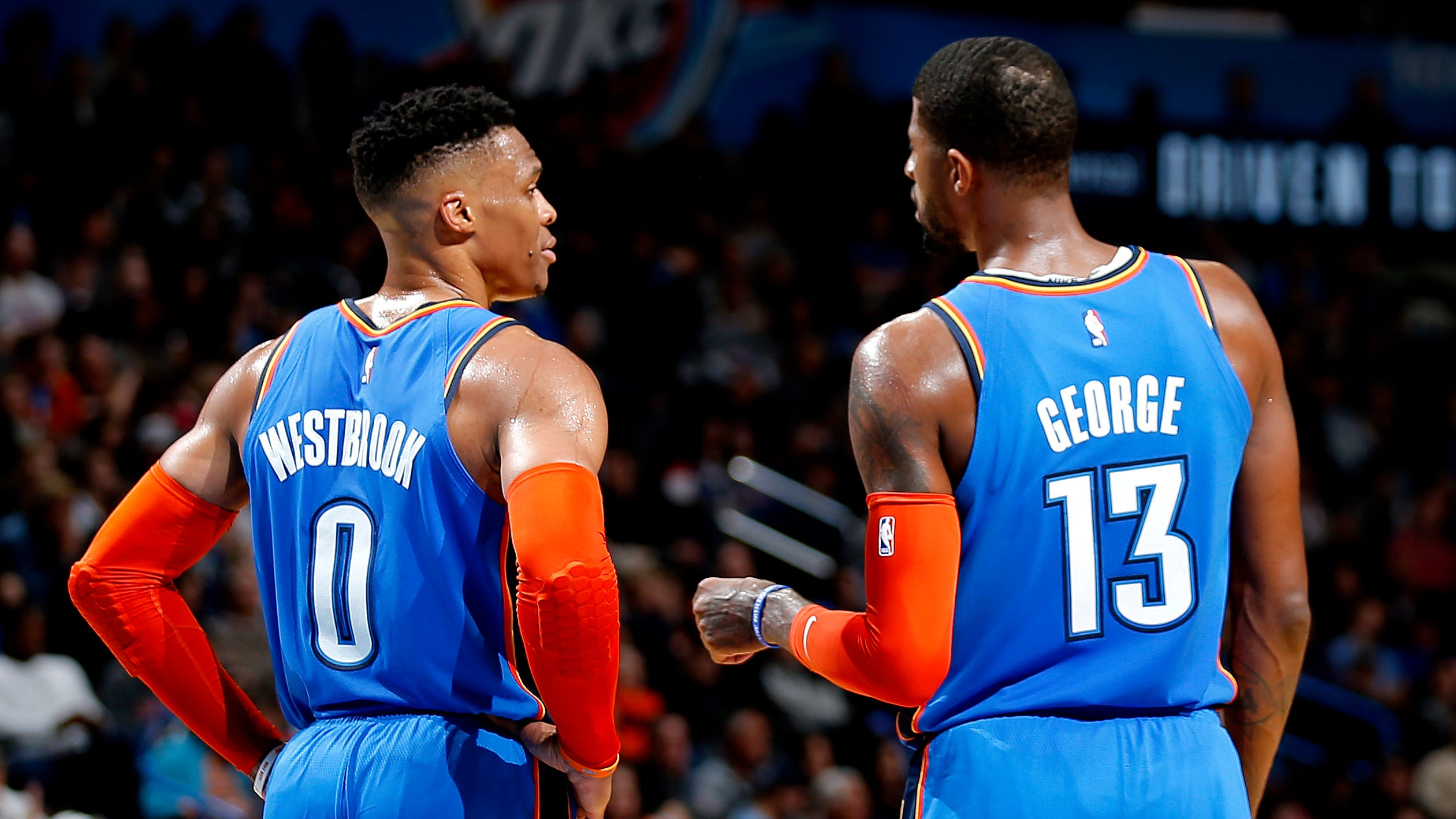 Tramel's ScissorTales: Did Russell Westbrook & Paul George double-cross each other to exit Thunder? - Oklahoman.com