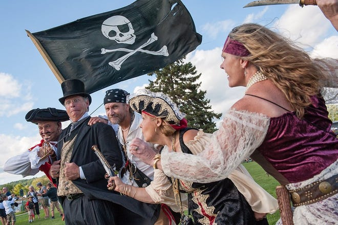 Pirates will invade Boyne City next week, Aug. 11-15, with the return of Pirate Fest.