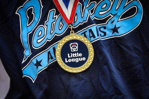 The Petoskey Junior All-Stars will receive a police escort celebration through downtown at 6 p.m. Wednesday, Aug. 4.