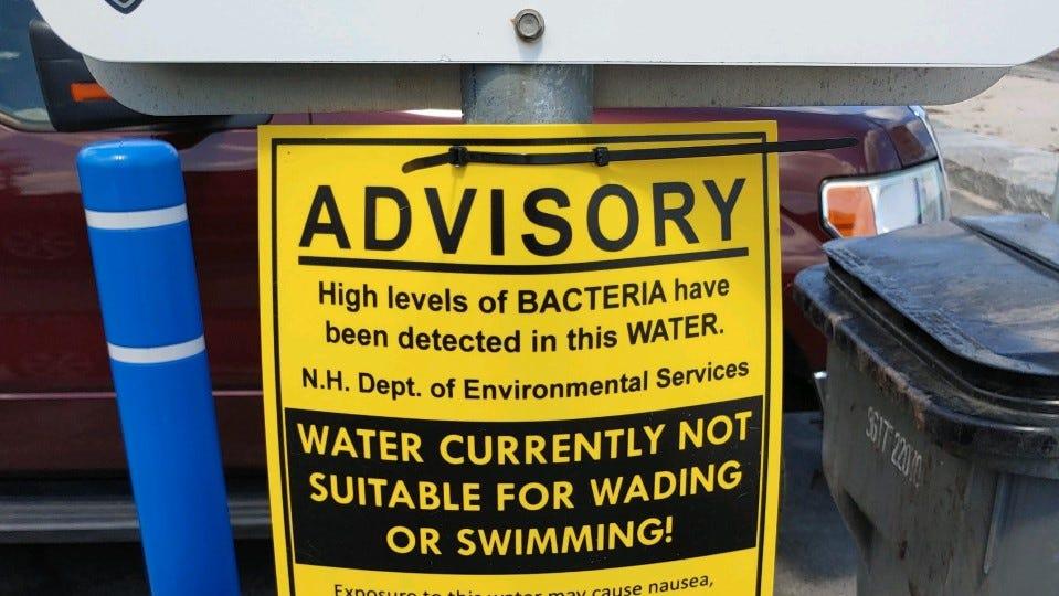 Swimming deemed unsafe: High fecal counts at North Hampton, Wallis Sand state beaches - Seacoastonline.com