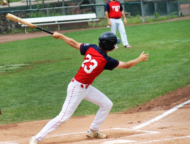After winning the program's second state championship last week Boden Driscoll and the Portsmouth Sr. Legion team will open play in the Northeast Regional on Wednesday in Shrewsbury, Mass.