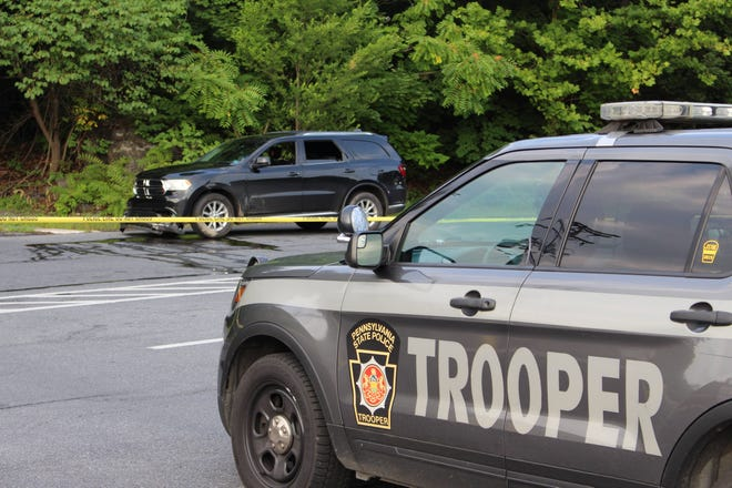 A man in a black Dodge Durango led police on a chase Sunday, Aug. 1, that ended in an East Stroudsburg Wendy's.