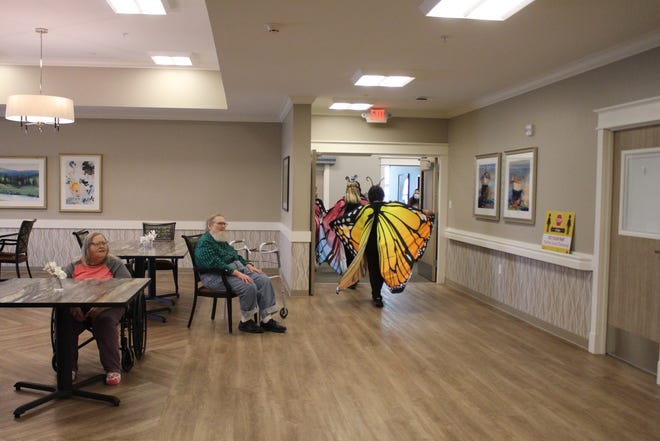 Grand Plains Skilled Nursing Care residents enjoy life at the new, modern facility in Pratt.