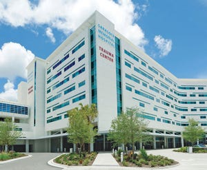 Sarasota Memorial Hospital set another record Thursday for COVID-19 patients, with 160.