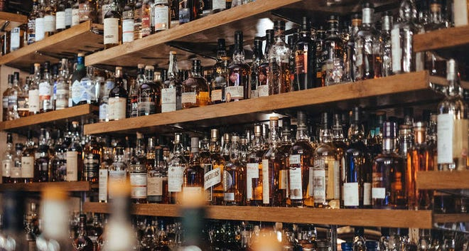 A few brands of bourbon reign supreme, at least volume-wise, in the whiskey aisle