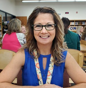 Shawnee Middle School English Language Arts teacher Trecia Leach is excited to help students with their English comprehension this year.