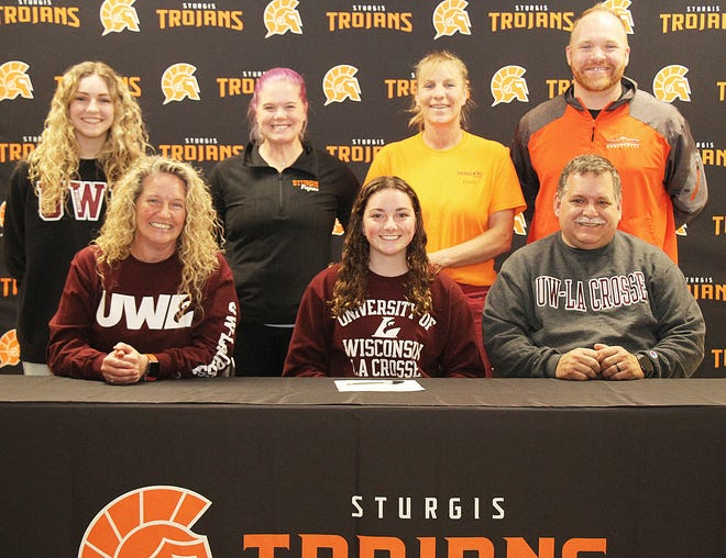Laci Gottschalk, recent graduate of Sturgis High School, will continue her academic and diving careers with the University of Wisconson-La Crosse.