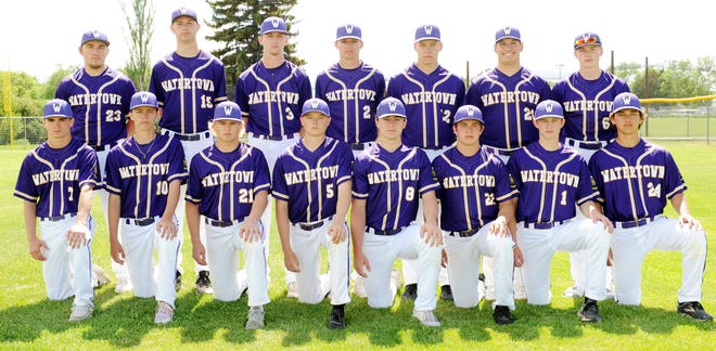 Members of the 2021 Watertown Post 17 American Legion Baseball team included, from left in front, Connor Hanson, Jack Heesch, Ben Althoff, Easton Thury, Cole Holden, Kale Stevenson, Andrew Czech and Zach Hirsch; and back, Joe Wilber, Kade Russell, Dawson Schmidt, Braedon Zaug, Jerod Cyrus, Braxton Lacher and Trevon Rawdon. Post 17 went 30-30 and qualified for the state Class A tournament.