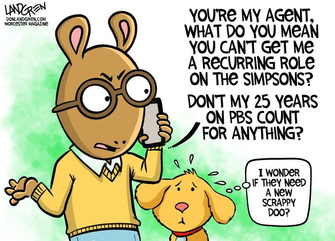 """""""Arthur"""" on PBS has been canceled after 25 years."""