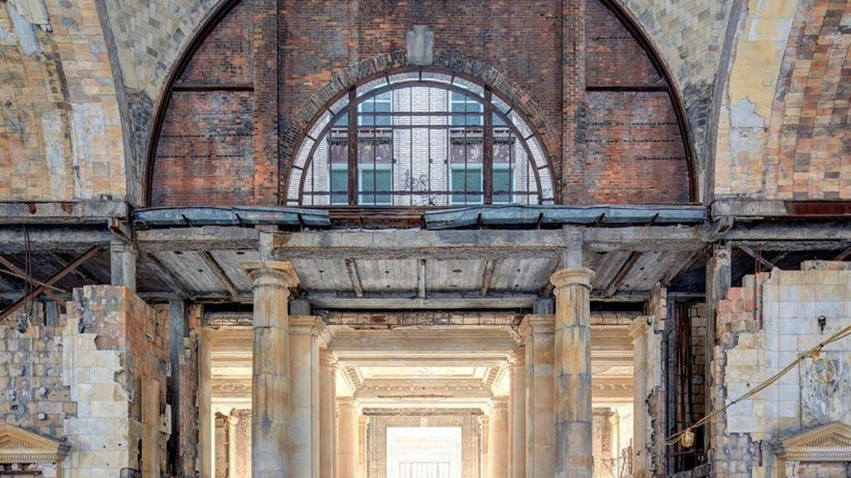 Michigan Central Depot is backdrop for new digital art exhibition