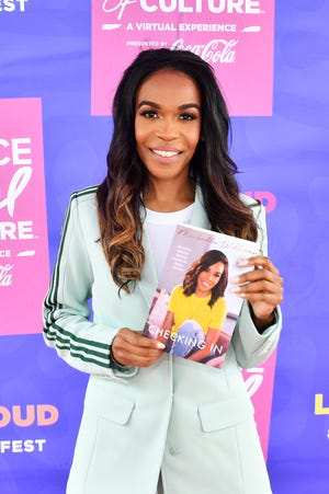 Michelle Williams, shown at the 2021 Essence Festival of Culture in New Orleans earlier this month, will speak at Milwaukee Film's Cultures & Communities Festival Sept. 8.