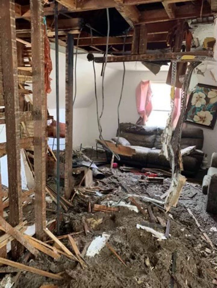 An April 2021 fire that investigators suspect was caused by faulty electrical wiring destroyed many of the belongings of renter Leilani Zollicoffer who lived in the unit with her boyfriend, Ricky Carter, and her two young daughters. The duplex is near West North Avenue and North 15th Street.