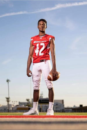 Corvel Simmons was Central High's 2020-21 student-athlete of the year. Photo from Chandler Hovik