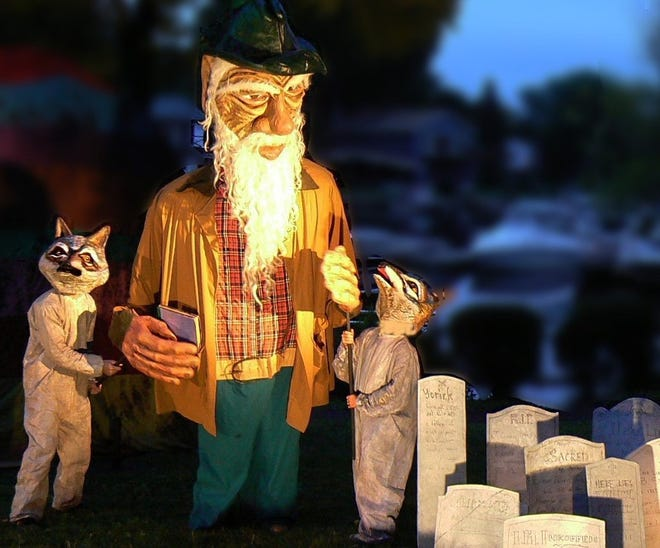"""Arm of the Sea Theater's annual Esopus Creek Puppet Suite performance, """"Floodplain Rhapsodies and Tap Root Remedies,"""" on for Aug. 18-22."""