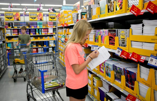 A number of school supplies and some clothing items can be purchased tax-free this weekend in Texas.