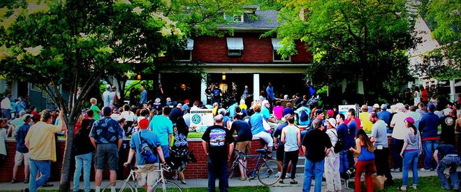 Akron's Highland Square neighborhood will host the performances of 140 bands on its residents' porches for theninth PorchRokr festival Saturday, Aug. 21.