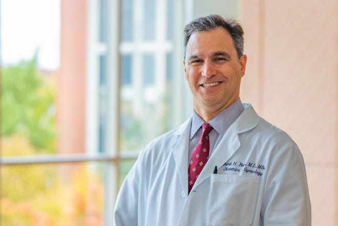 Dr. Richard Beigi, president of UPMC Magee and professor of reproductive sciences at Pitt, is the national principal investigator of a study looking at the immune response to COVID-19 vaccines in pregnant and postpartum individuals and their babies.