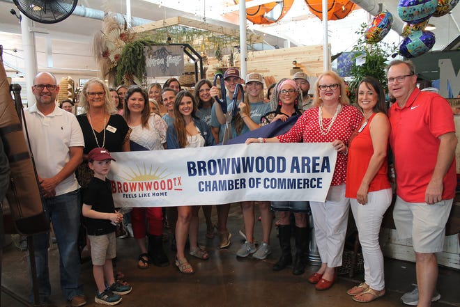 The Brownwood Area Chamber of Commerce held a ribbon cutting for Shaw's Marketplace Saturday as part of the marketplace's grand opening.