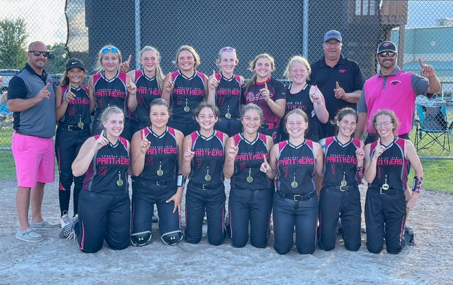 The Presque Isle Panthers 14-Under travel softball team captured the Cheboygan 'Chaos Clash' tournament championship after beating the host Chaos 6-2 in the final on Sunday.