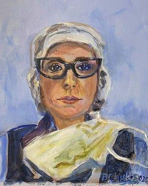 """D.O Sara Kanoun,""by Barbara Chuko"