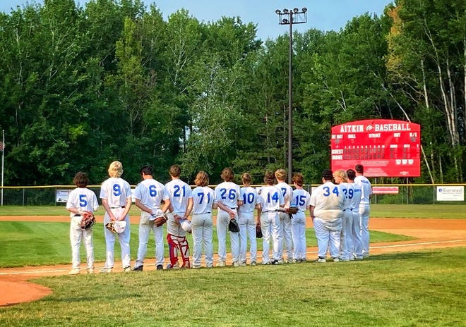 Junior Legion Baseball Team in Aitkin