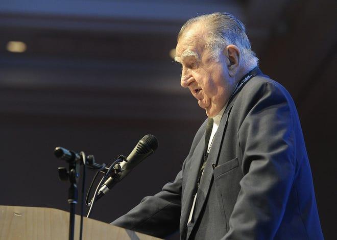 Joe Prischak, chairman of Plastek Group, is shown in this 2016 file photo.