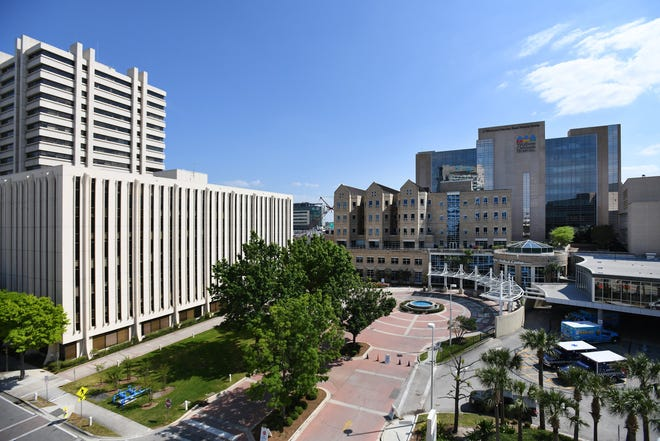 The Baptist Health complex in Jacksonville, Florida.
