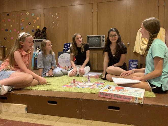 """Young actors from The Luminescent Moon Theatre Company are taking part in the """"Girl on the Moon"""" musical this month in Massillon."""