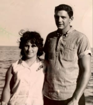 The couple in 1961