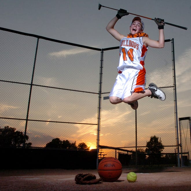 Heather Carlson who played basketball, softball and golf in her senior year at Summerfield was the Monroe County Region Girls Athlete of the Year in 2009.