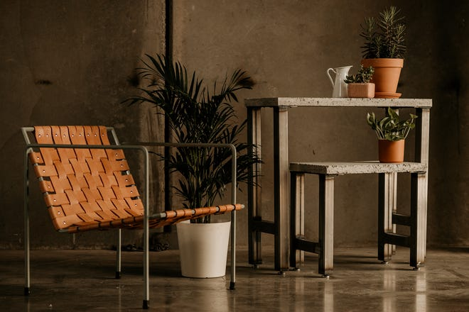 The next wave in furniture, says Elton Rivas, co-owner of Semi Exact, will be a move away from ready-to-assemble furniture to ready-to-make furniture, like items pictured here, where customers purchase components then cut them to the size they want.