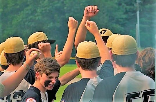 The Newmarket American Legion Post 67 junior baseball team won four of its last five games of the regular season and finished with a record of 9-9. Newmarket will play Nashua on Friday in the New Hampshire state tournament at Gill Stadium in Manchester.