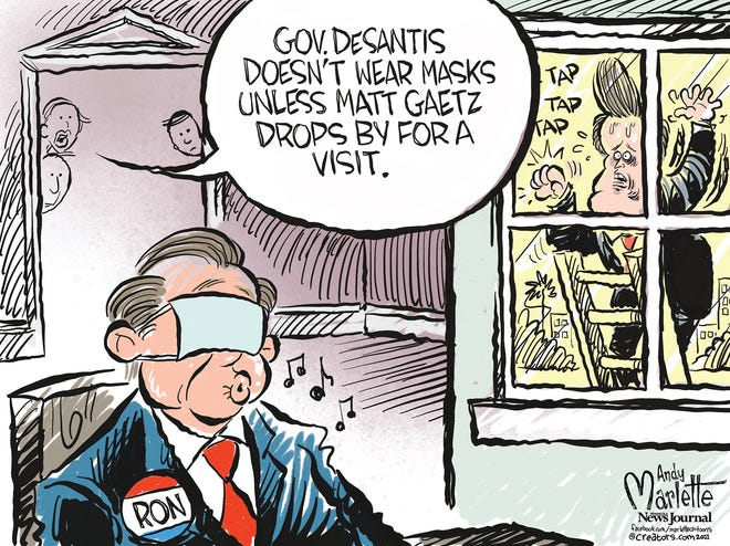 CARTOON VIEW | ANDY MARLETTE