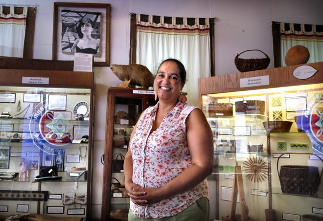 Lorén Spears, executive director of the Tomaquag Museum in Exeter, the state's only Indigenous museum.
