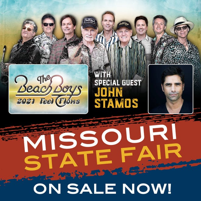 John Stamos will be performing with The Beach Boys during their show at the Missouri State Fair on Wednesday, Aug. 18.