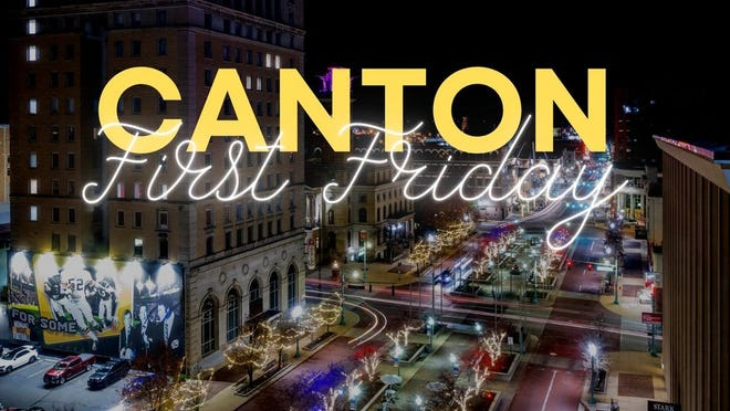 Events and activities are scheduled for the August First Friday in downtown Canton.