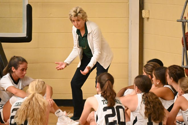 This year will be Sherri's Anthony's 37th as head coach of Nease's girls basketball team.